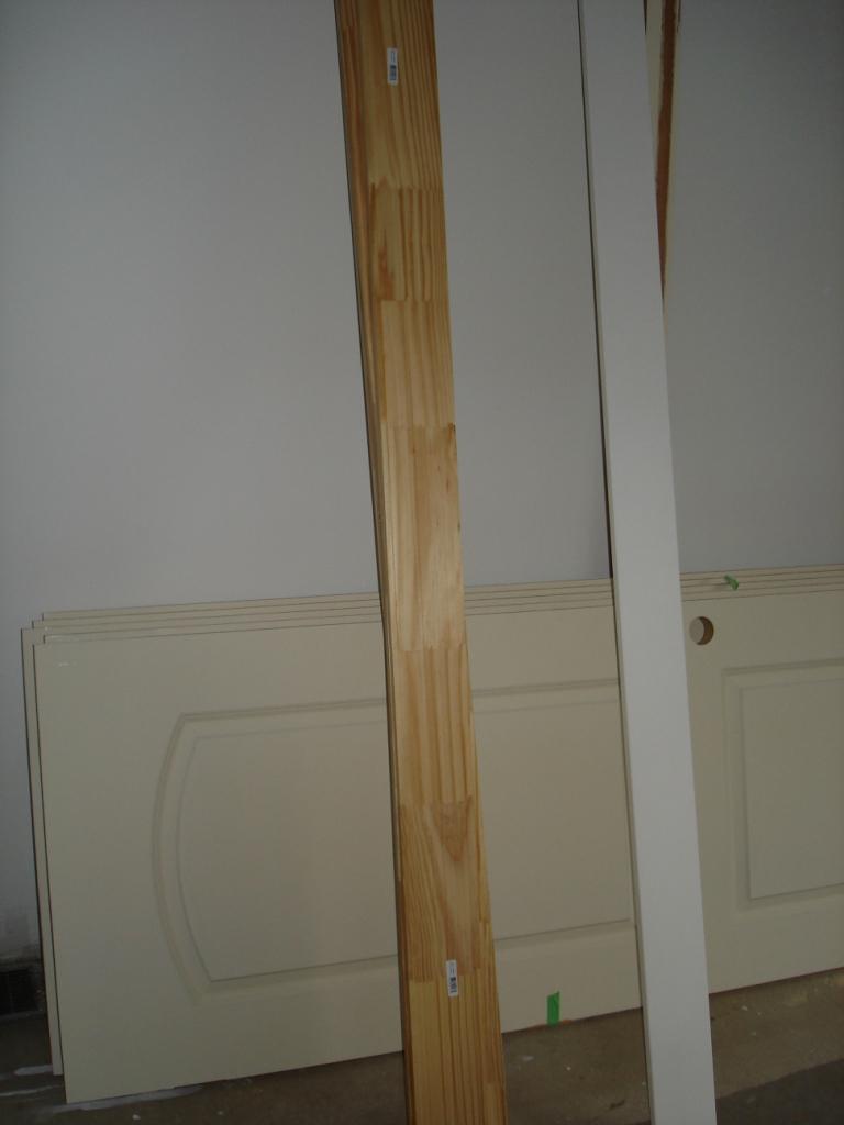 Hanging Of Interior Doors Begins Bathtub Fixed
